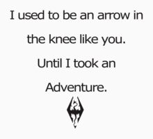 Arrow in the Knee Kids Clothes