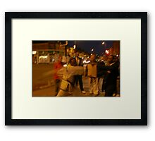 Street wise. Framed Print