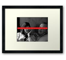 It was OK (FMP) Framed Print