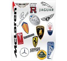 Car - Logos Poster