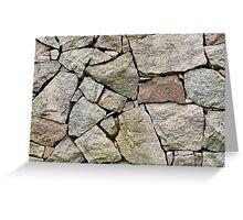 Stone pile Greeting Card