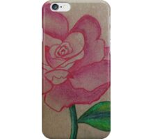 A rose for you iPhone Case/Skin
