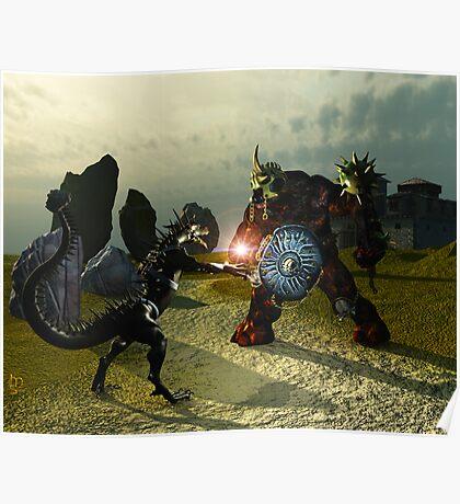Warriors Of Darkness Poster