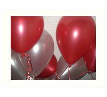 Balloon Party  Art Print