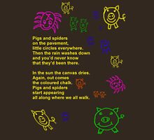 Pigs and Spiders - Poetee T-Shirt