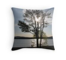 """"""" growth guided by light """" Throw Pillow"""