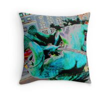 How dogs see the world Throw Pillow