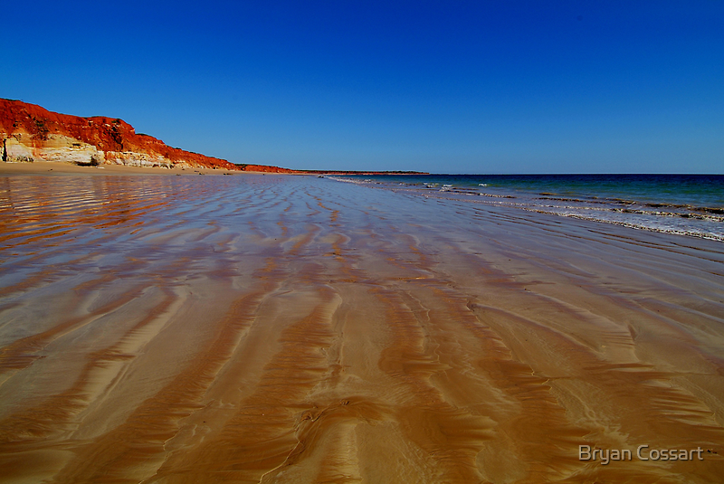 Beach at James Price Point by Bryan Cossart