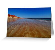 Beach at James Price Point Greeting Card