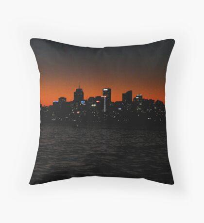 North Sydney (Gotham city?) Throw Pillow