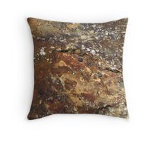 Surface, Ulster County Boulder Throw Pillow