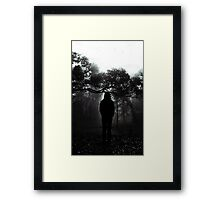 a day late Framed Print