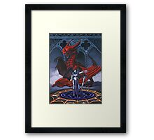 Akasha and the Blood Dragon Framed Print