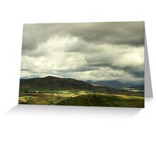 Snowdonia Landscape Greeting Card