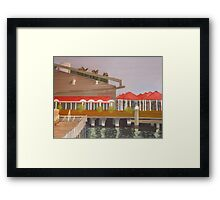 Campari Framed Print