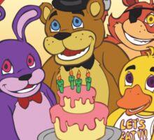 Freddy Fazbear's Birthday!   Sticker