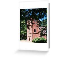 ST LUKES CHURCH IN SMITHFIELD VA. CIRCA 1632  Greeting Card