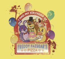 Freddy Fazbear's Birthday! (survivor version) Kids Clothes