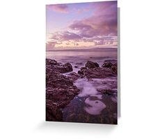 Sunrise at Bar Beach Greeting Card