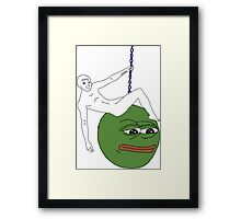 Feels ball  Framed Print