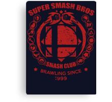 SMASH CLUB (RED) Canvas Print