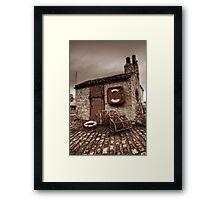 Old Smokey Framed Print