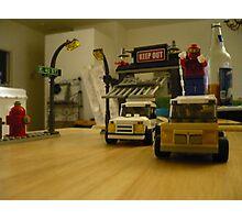 Spiderman Legos Photographic Print