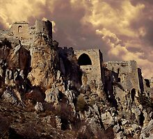 St. Hilarion Castle 2007 by Lisa Solonynko