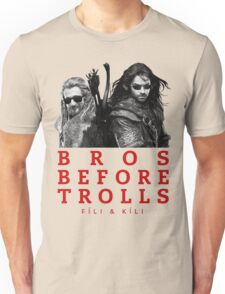 Fili & Kili: Bros Before Trolls Unisex T-Shirt