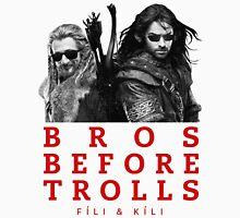 Fili & Kili: Bros Before Trolls Unisex T-Shirt