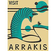Arrakis Travel Poster Photographic Print
