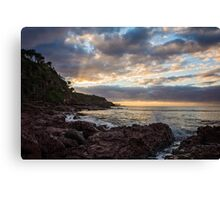 Another day at Bar Beach  Canvas Print