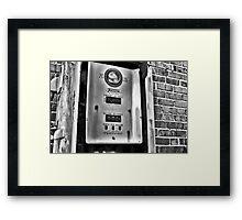 Cheap Gas! Framed Print