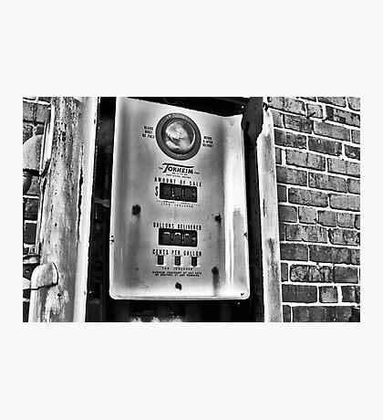 Cheap Gas! Photographic Print