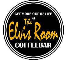 Elvis Room Shirt - Elvis Room - Portsmouth, NH Photographic Print