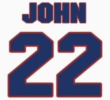 National baseball player John Verhoeven jersey 22 by imsport