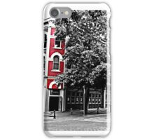 Gastown with a splash of red iPhone Case/Skin