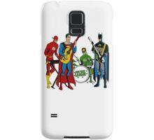 Justice League Rock Band T-Shirt Samsung Galaxy Case/Skin