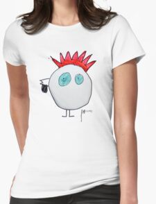 the blue eyed one Womens Fitted T-Shirt