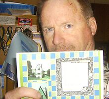 """The Dial House 5 x7 story card with my poetry"" by Thomas Josiah Chappelle"