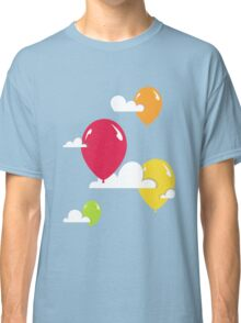 Clouds and Balloons Classic T-Shirt
