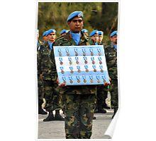 UN Medal Parade Poster