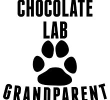 Chocolate Lab Grandparent by kwg2200