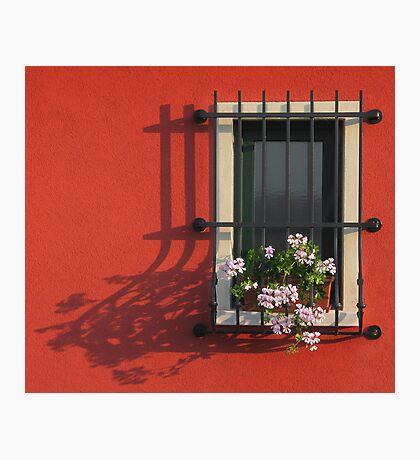 WINDOW AT SUNSET Photographic Print
