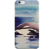 Orca Watercolor iPhone Case/Skin