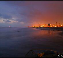 Ocean Side Beach by Chris Popa