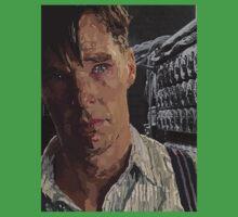 The Imitation Game - Benedict Cumberbatch Digital Portrait  Kids Clothes