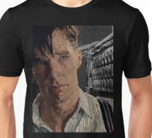 The Imitation Game - Benedict Cumberbatch Digital Portrait  Unisex T-Shirt
