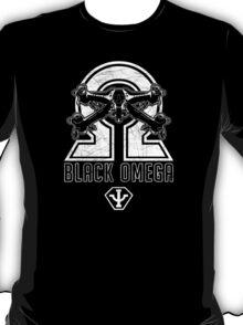 Babylon 5 - B5 - Black Omega - Starfury (Distressed) T-Shirt