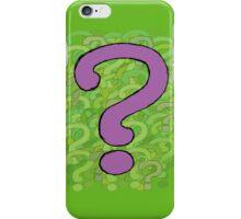 ??? iPhone Case/Skin